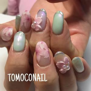 桜★ミントネイル