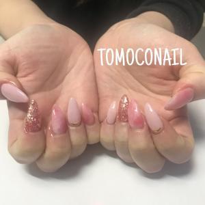 桜色★ピンクネイル