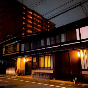 京都飲み会に繰り出す直前の景色