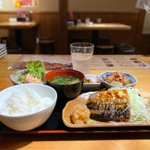博多かわ屋さんの初日替わりランチ?「鯖の塩焼定食」で嬉しい悲鳴