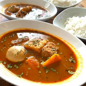 札幌らっきょさん監修のスープカリーの匠「北海道産チキンの濃厚スープカレー」