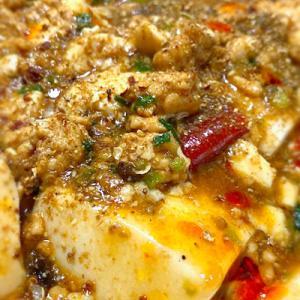 在宅勤務男子ご飯95 3種の山椒がシビれまくる「麻婆豆腐」