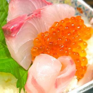 一知富士さんの「冷やしねばとろうどん&ミニ海鮮丼海鮮丼」