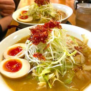 中村商店さんの海老の香ばしさがたまらない冬季限定「海老味噌タンメン」