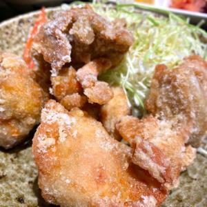 博多かわ屋さんのリピート率No.1ランチメニュー「唐揚げ定食」
