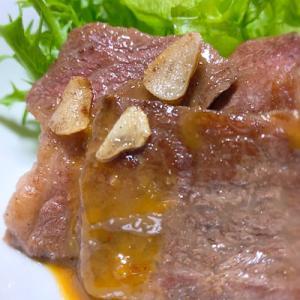 男メシ 海と陸の幸の出会い「ツブ貝の炊き込みご飯と牛カルビガーリック焼き」