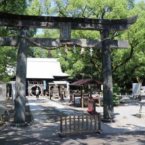諫早神社の夏越し大祓~茅の輪くぐり