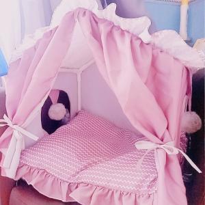 とっても可愛い猫・小型犬のベッド(*´ェ`*)
