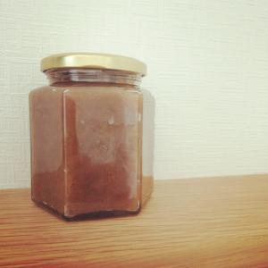 梅酒の梅を使って、梅ジャム作り。