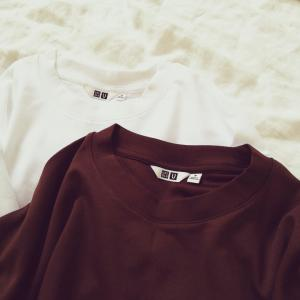 【UNIQLO】夫婦兼用で使います♪ エアリズムコットンオーバーTシャツ、かなり良い♪