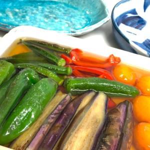 今日の一品 - 夏野菜揚げ浸し