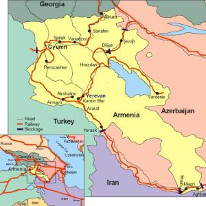 アルメニア鉄道の経営はロシア鉄道に委ねられていた