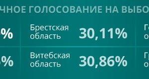 ベラルーシ大統領選 期日前投票を済ませたのは?
