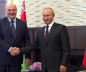 ルカシェンコ、貨物のロシア港シフトも協議