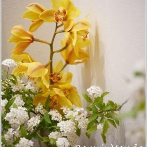 お花と手作りジャム♪