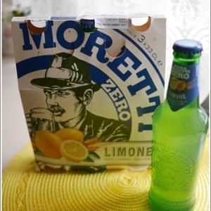 レモンテイストのイタリアビール♪