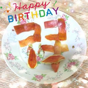 ココたん 祝1歳☆HAPPY BIRTHDAY!!/(≧ x ≦)\