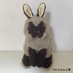 オーダー作品ご紹介♪ぬいぐるみ(リアルお座りポーズ/玄くん)