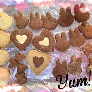 うさぎさんクッキー作ったよ☆/(*^x^*)\