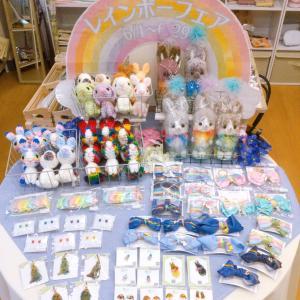 ラビハピ☆レインボーフェアの店内の様子を、ご紹介下さってます♪/(*^x^*)\