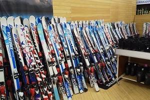 スキーセット シーズンレンタルして来たよ!