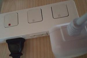 スイッチ付き電源タップがまぶしい時