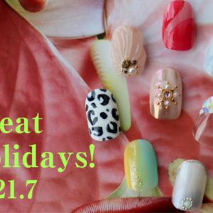 """7月のデザインテーマは""""great holidays""""!"""