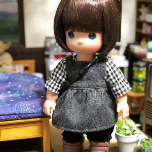 ハルちゃん サロペットスカート+ショルダーバッグ!