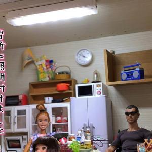 FireTV stick続報+ハイコ開花+ニニさん台所改造+アベノマスク!