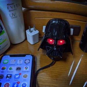 ダースベイダー iPhone充電器と映画「ミッドサマー」の感想