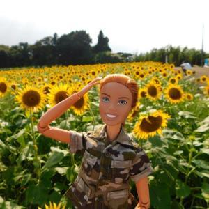 ニニさん 岩本山にひまわりを見に行く!