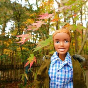 ニニさん 秩父宮公園に紅葉を見に行く!