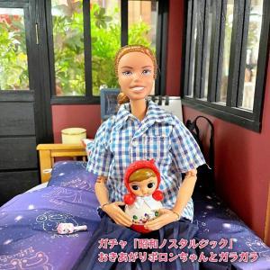 ガチャ「昭和ノスタルジック」とハイビスカスとメダカ!