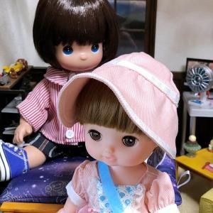 レミンちゃん ボー・ピープドレスセットとハルちゃんカジュアルルック