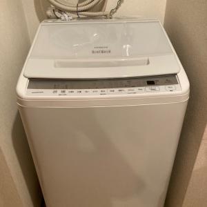新しい洗濯機が届いた〜