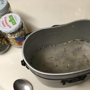 土鍋より飯盒かも……
