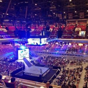 WWEを見に行ってきました