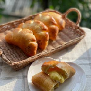 7月レシピプレゼント 企画します! 「ノンオイルノンバター カスタードクリームパン」