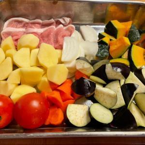 夏野菜の煮物