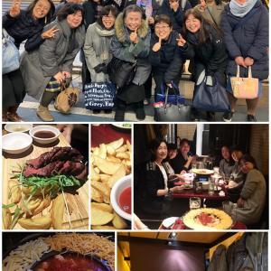 横浜教室 夜の新年会(๑˃̵ᴗ˂̵)