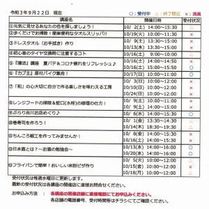 【吉川タイムズOnline】恒例の「吉川まちゼミ」が10月1日~31日開催