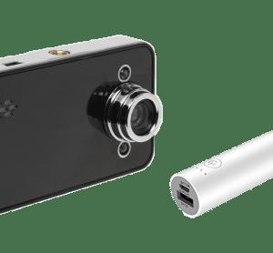コンビニ証明書原本性確認に最適 偽造防止検出画像確認用赤外線カメラ&バッテリーセット ありがとうございます!