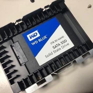 ハードディスクをSSDへ変更しました(^^♪