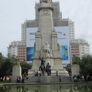 スペイン~マドリッド/スペイン広場