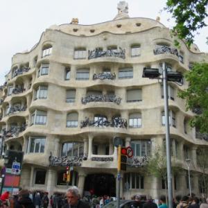 スペイン~バルセロナ、カサ・ミラ、ボケリア市場
