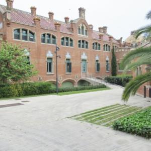 スペイン~バルセロナ、サン・パウ病院