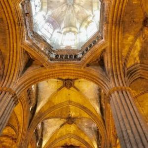 スペイン~バルセロナ、サンタ・エウラリア大聖堂