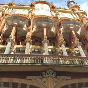スペイン~バルセロナ、カタルーニャ音楽堂