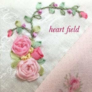 【お盆休み特別企画】ブログでリボン刺しゅうレッスン!!再アップ!!