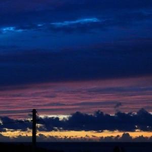 夜明けの三色